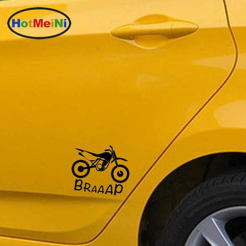 HotMeiNi Байк Ktm бегущая лиса окна Переводные картинки наклейки для автомобиля Стайлинг украшения Черный Серебряный 18,5 см * 15,6 см