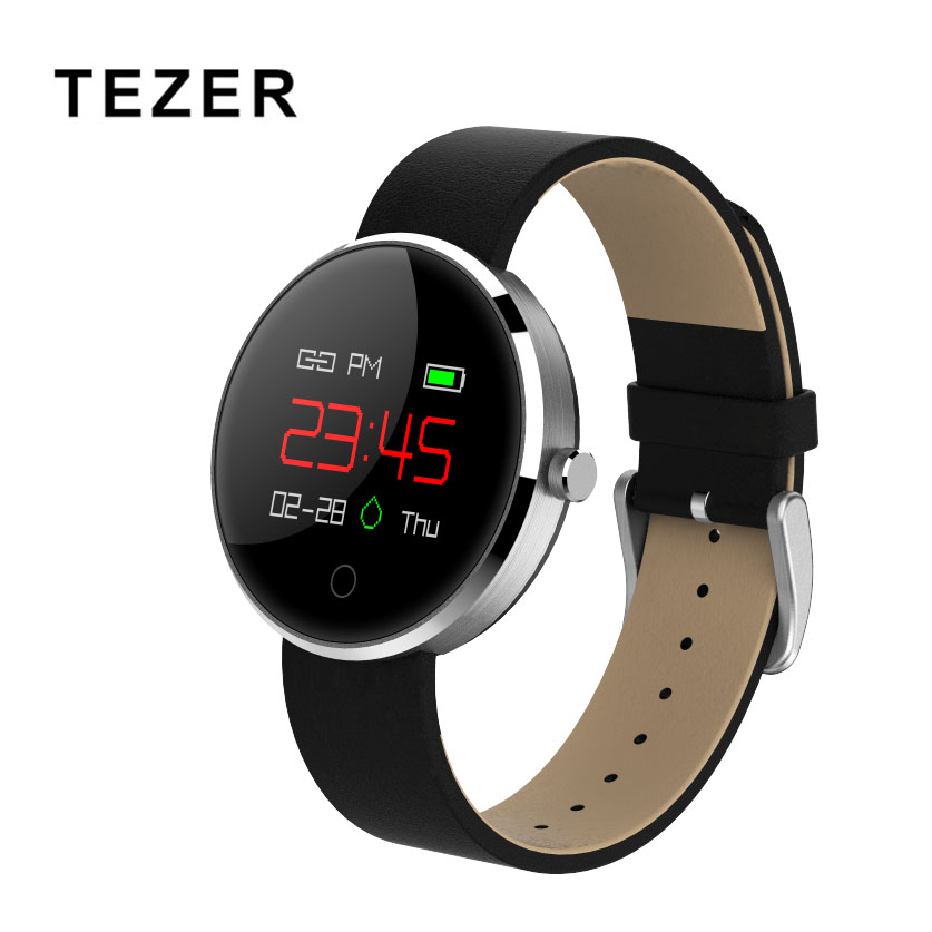 2018 latest wearable devices Tezer DM78 Smart Watch bluetooth blood Pressure Heart Rate Monitor smart bracelet for IOS Andriod