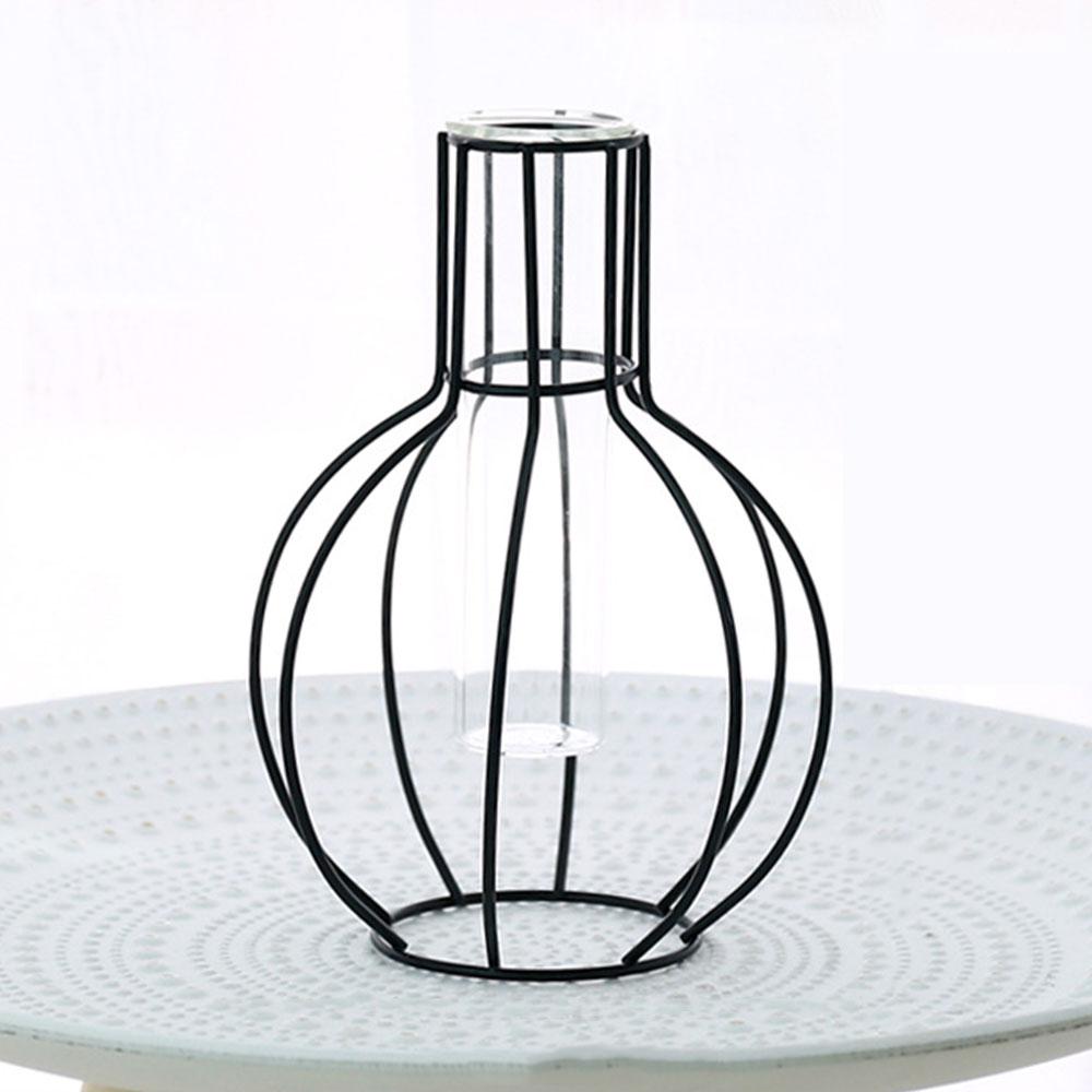 4 стиль кованая ваза Творческий горшок гидропоники цветок стенд вазы Desktop украшения дома Conainer Soliflore Verre - Цвет: Lantern