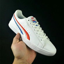 3cf3c1f63510 PUMA CLYDE Men And Women Shoes Red White Blue Embroidery Trend Sneaker  Independence Day