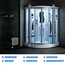 1Set 220V/1Phase 4.5KW Dry Sauna Spa Bath Shower Room Steam Generator Machine Infrared Computer Controller Panel Accessories