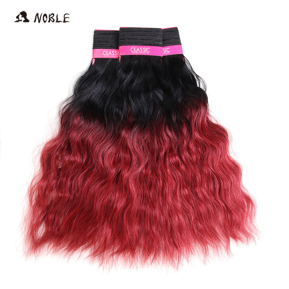 Noble Hair Synthetic High Temperature Fiber100g Water Wave 18