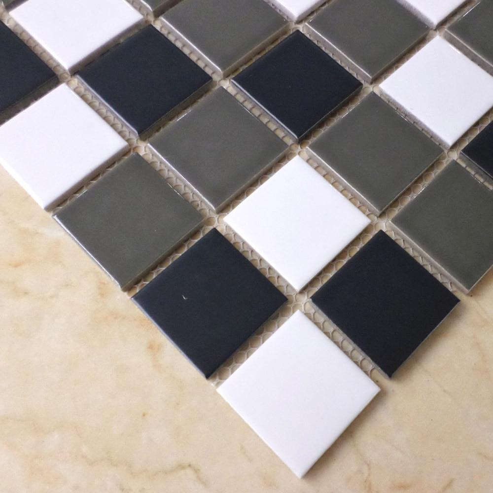 Mosaics Tiles 2x2 Matte Ceramic Tile Backsplash Bathroom Shower Wall