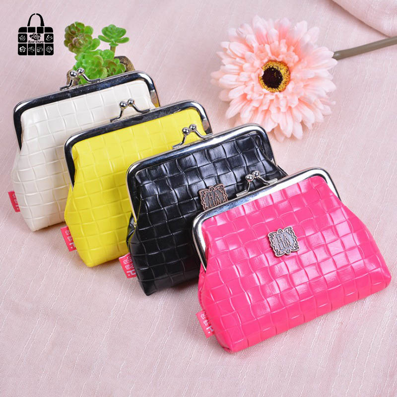 Rose Diary Fashion sweet Women Coin Purse PU Leather weaving Wristlet lady Wallet Girls Change Pocket Pouch Hasp Bag Keys Case стоимость