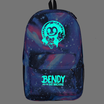 Children School Bags Bendy And The Ink Machine Backpack Student Book Backpack Daily Backpack Cartoon Mochila School Gifts