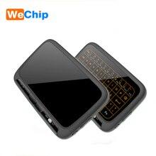H18 プラスキーボード 2.4 グラムワイヤレスタッチパッドキーボードバックライトエアマウス用タッチパッドのマウスとスマートテレビ/Android ボックス /コンピュータ