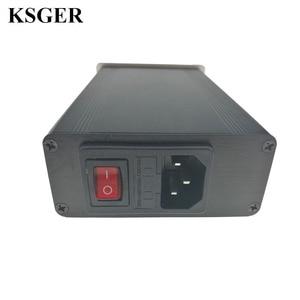 Image 4 - KSGER הלחמה תחנת DIY ערכת STM32 2.1S OLED 1.3 תצוגת טמפרטורת בקר דיגיטלי אלקטרוני ריתוך ברזל T12 ברזל טיפים