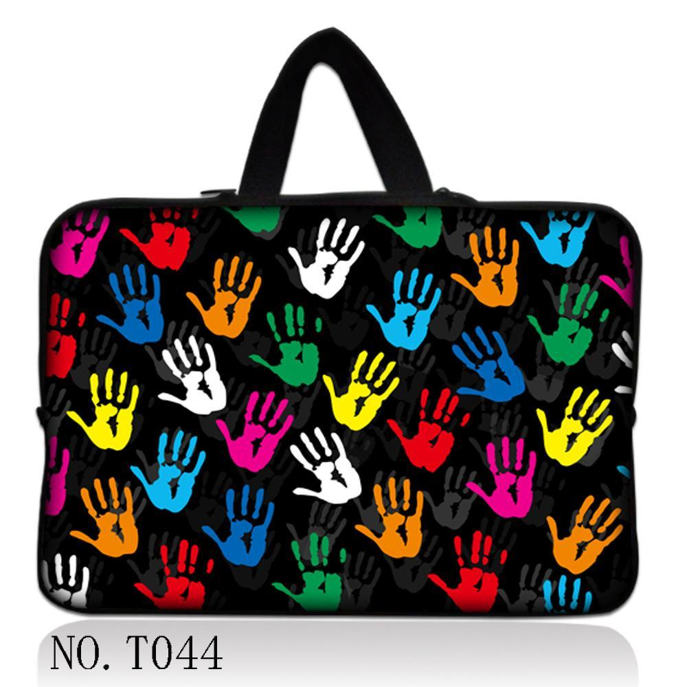 Colorful Hand 9.7 12 13.3 14.4 15.6 17.3 Laptop Sleeve Bag Notebook Smart Cover Tablet PC Sleeve Case For Macbook Air/Pro/Retina