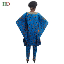 Bazin wax African Traditional  Dress