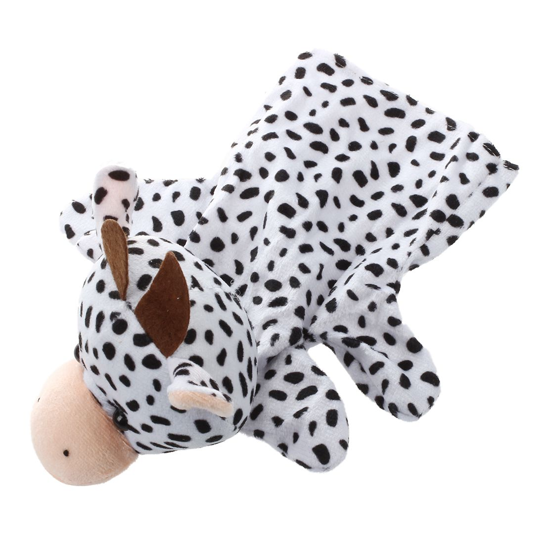 Wholesale!Zoo Animal Hand Sock Glove Finger Puppets Sack Plush Toy Cow