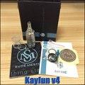 kayfun 4 upgrad kayfun v4 lite atomizer rebuildable atomizers electronic cigarette fit vamo v5 v6 battery mod