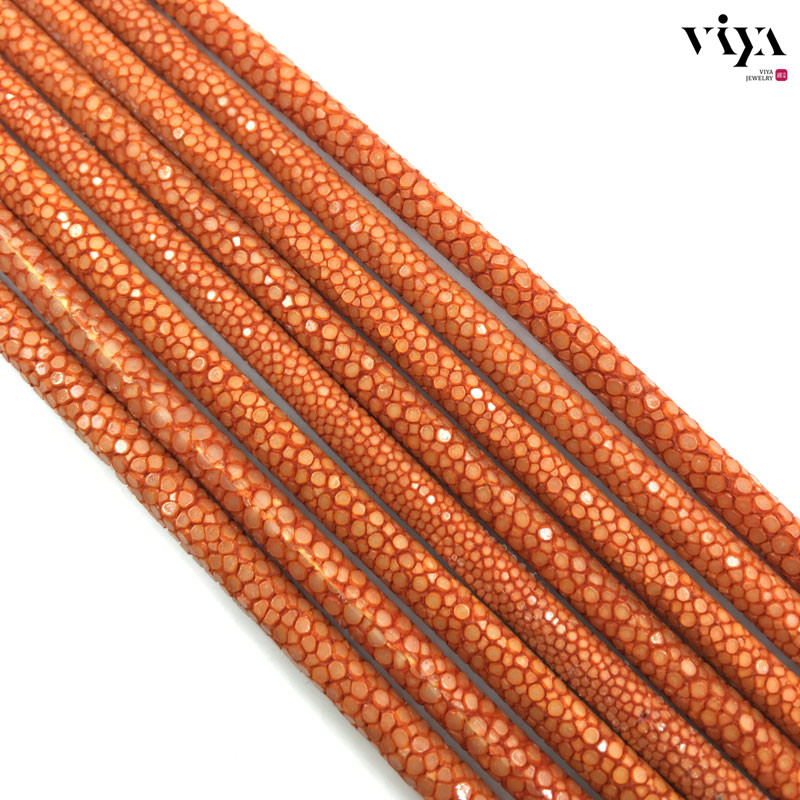 orange-stingray-leather-cord-available-diameter-4-mm-5-mm-6-mm-(6)