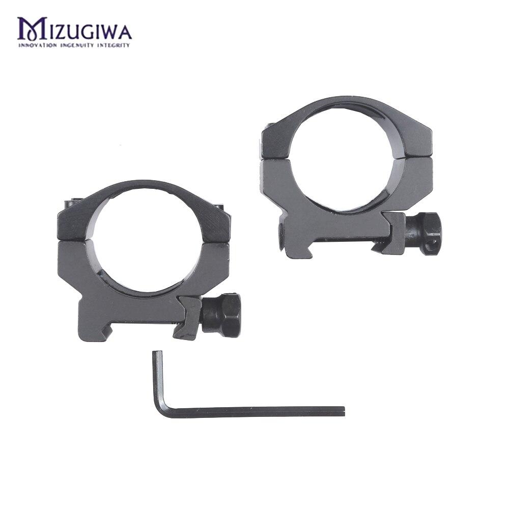 Mizugiwa-Low-Profile-6-Bolts-30mm-Ring-Weaver-Heavy-Duty-20mm-Picatinny-Rail-Base-Scope-Mount (3)