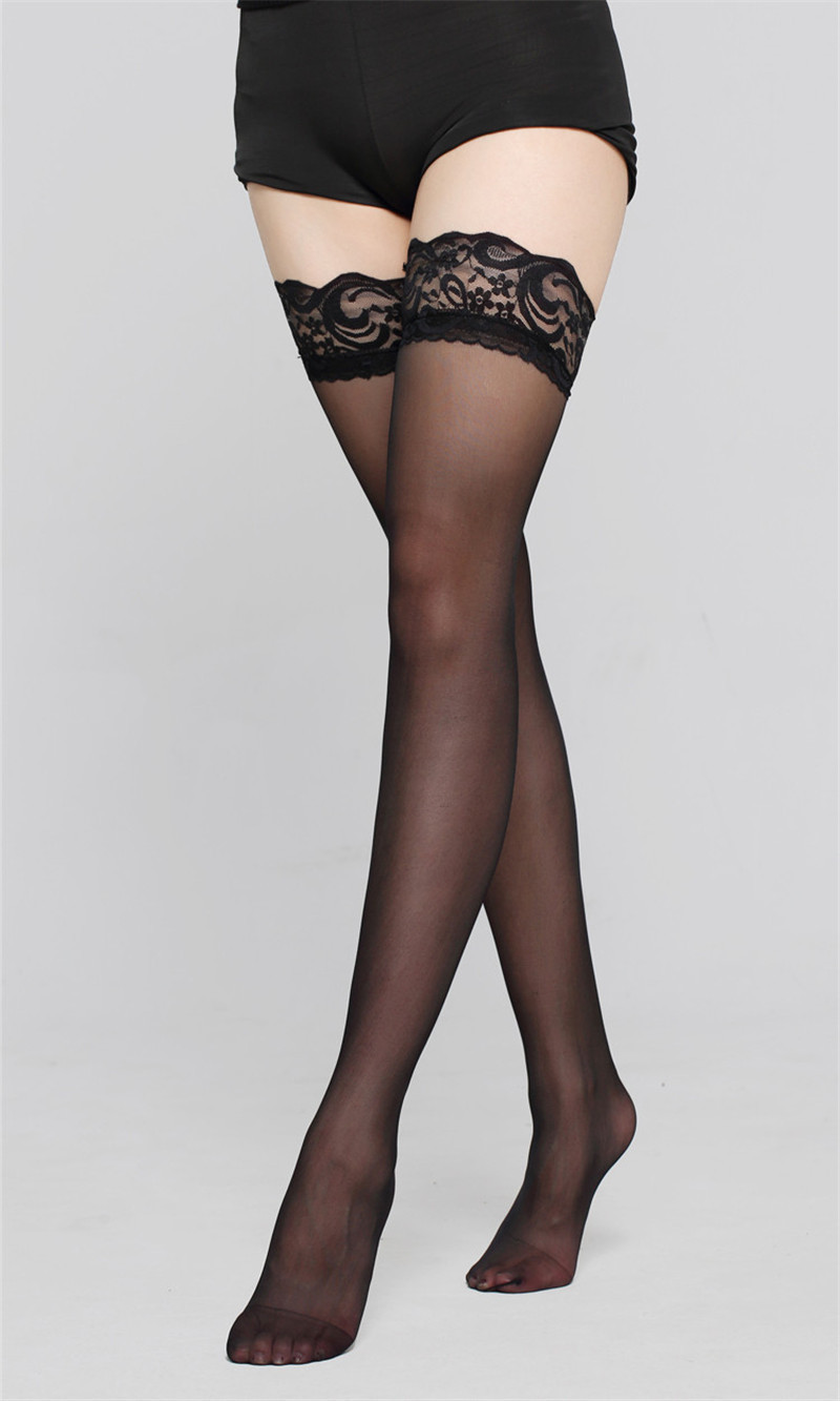 14cafe856a4 Hot Sale Female sexy stocking hose women Thigh high stockings appeal to fix  the leg show thin lace sexy stockings-in Stockings from Underwear    Sleepwears ...
