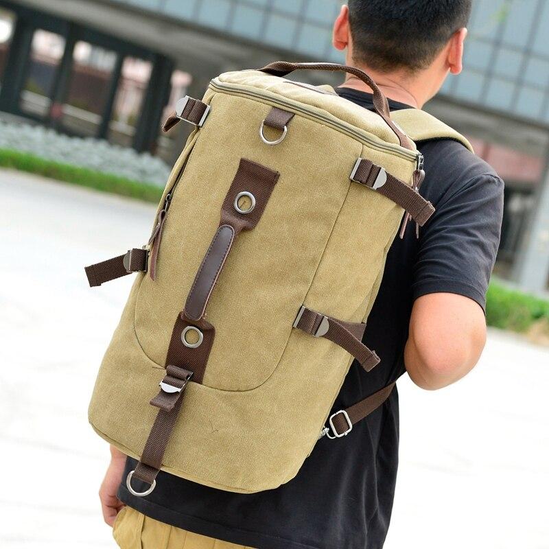 ФОТО TOP GRADE students schoolbag men and women travel backpack computer shoulder bags men canvas bag 8011#