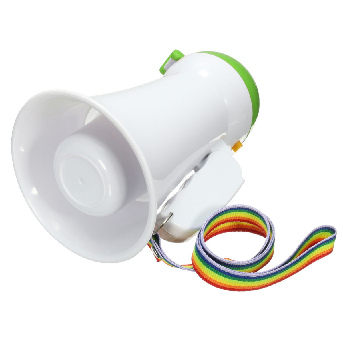 hight resolution of new portable handheld megaphone foldable 5w loud speaker bull horn voice amplifer in microphones from