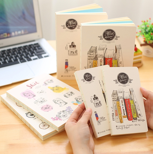 2018 Kawaii Blank Notebook Cute Graffiti Sketching Book Note Book For School Creative-gift Staionery Store Office Supplies b5 vintage blank notebook creative high quality student diary daily painting graffiti sketching book office school note planner