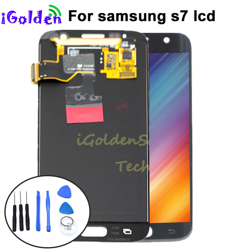5 1 For SAMSUNG GALAXY S7 G930A G930F SM G930F LCD Display Touch Screen Digitizer Assembly