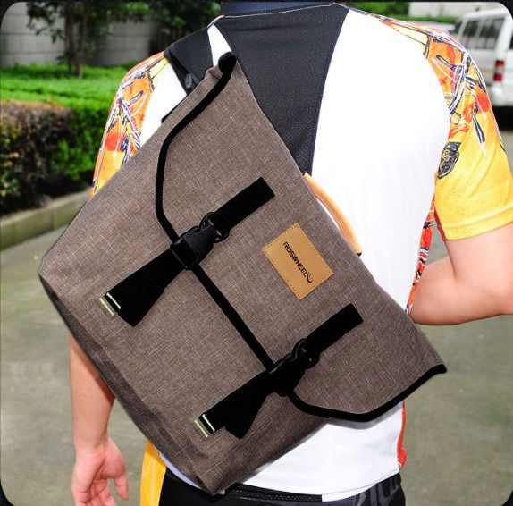 New Retro Cycling Bike Bicycle Messenger Bag Shoulder 22l Waterproof Handbag In Bags Panniers From Sports Entertainment On Aliexpress