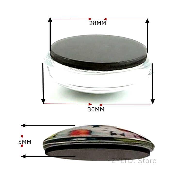 Duitsland Nationale Vlag en 30 MM Magneet Vlag van Duitsland Glas Dome Magnetische Koelkast koelkast sticker Home Decor