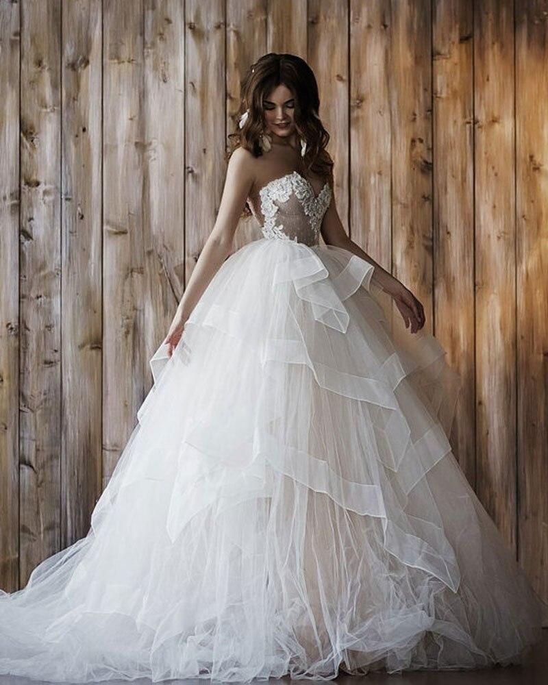 Popular detachable tulle skirt buy cheap detachable tulle for Removable tulle skirt wedding dress