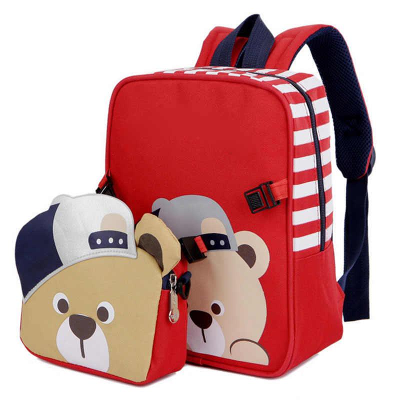 New Children School Bags Kids Waterproof Kindergarten Backpacks Book Bag  for Boys and Girls 3D Cartoon b5af0b053e1b2
