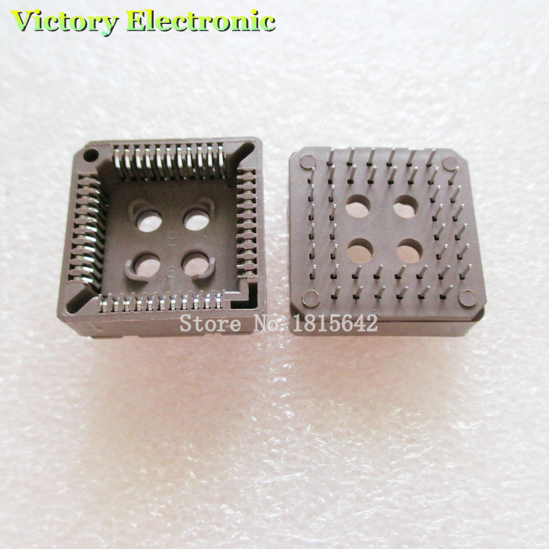 5PCS/Lot PLCC 44 PLCC44 DIP Through Hole Mount IC Socket Wholesale
