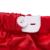 Roupa infantil 4 pcs define Branco Macacão de Manga Longa Saia Tutu Plissado Pettiskirt Vermelho Sapatos Headband Do Bebê Meninas Roupas YK & amando