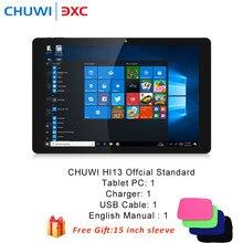 CHUWI Hi13 13.5 inch 2 in 1 Tablet PC Windows10 Intel Celeron N3450 Quad Core 4GB RAM 64GB ROM Dual WiFi Laptop Sleeve 15 inch