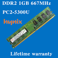 Настольных памяти пожизненная гарантия для Hynix DDR2 1 ГБ 2 ГБ 667 мГц PC2-5300U 667 1 г оперативной памяти компьютера 240PIN оригинальной аутентичной