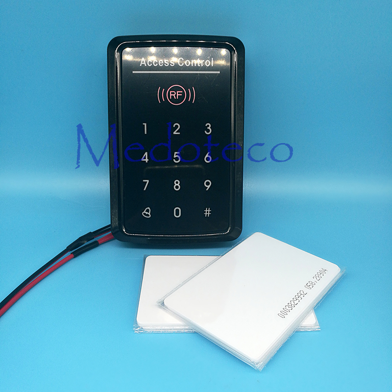 Touch Keypad Door Access Control 125khz Rfid access control system EM card touch key access controller wiegand 26 input & Output whole sale elegant mf1 card access control with touch screen keypad 3000pcs cards capacity wiegand in and out support