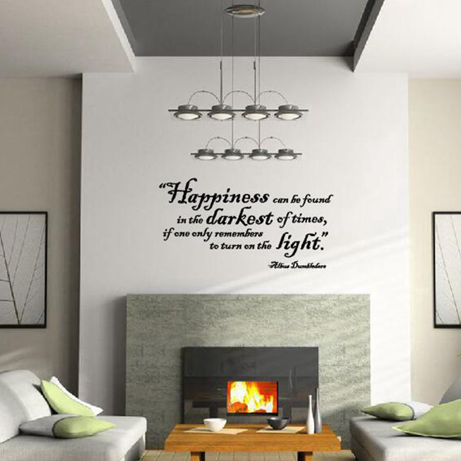 Aliexpress.com : Buy Free Shipping Humor Philosophy Quote Harry Potter Wall  Stickers Harry Potter Vinyl Decal Quote Sticker By Albus Dumbledore From ... Part 64