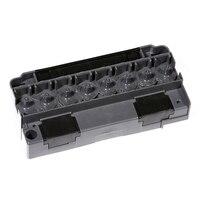 Impressora solvente do plotador dx5 adaptador solvente dx5 f186000 da cabeça de impressão do distribuidor solvente mutoh mimaki allwin eco|Peças de impressora| |  -