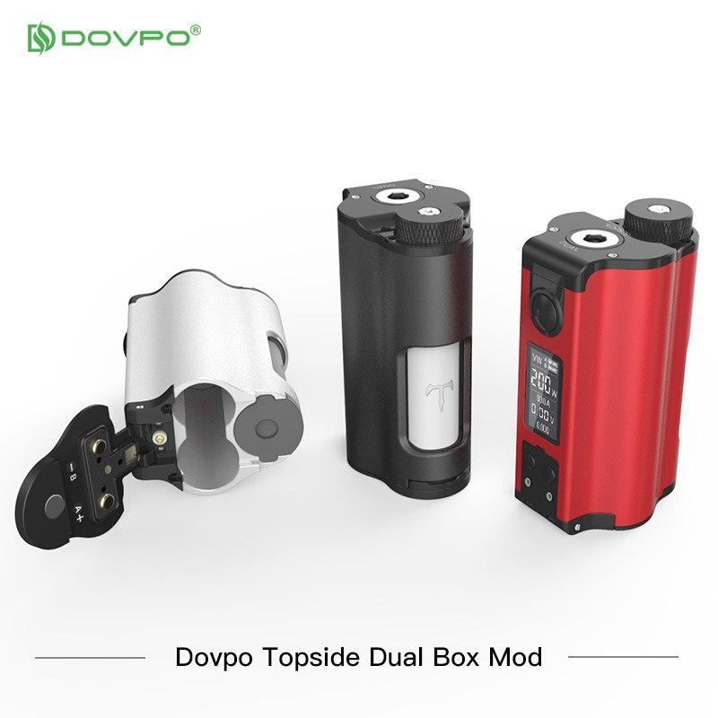 Nova cor dovpo topside dupla superior preenchimento tc squonk mod com 10ml garrafa de cigarros eletrônicos mods vs voopoo arrastar 2/vape mod - 3