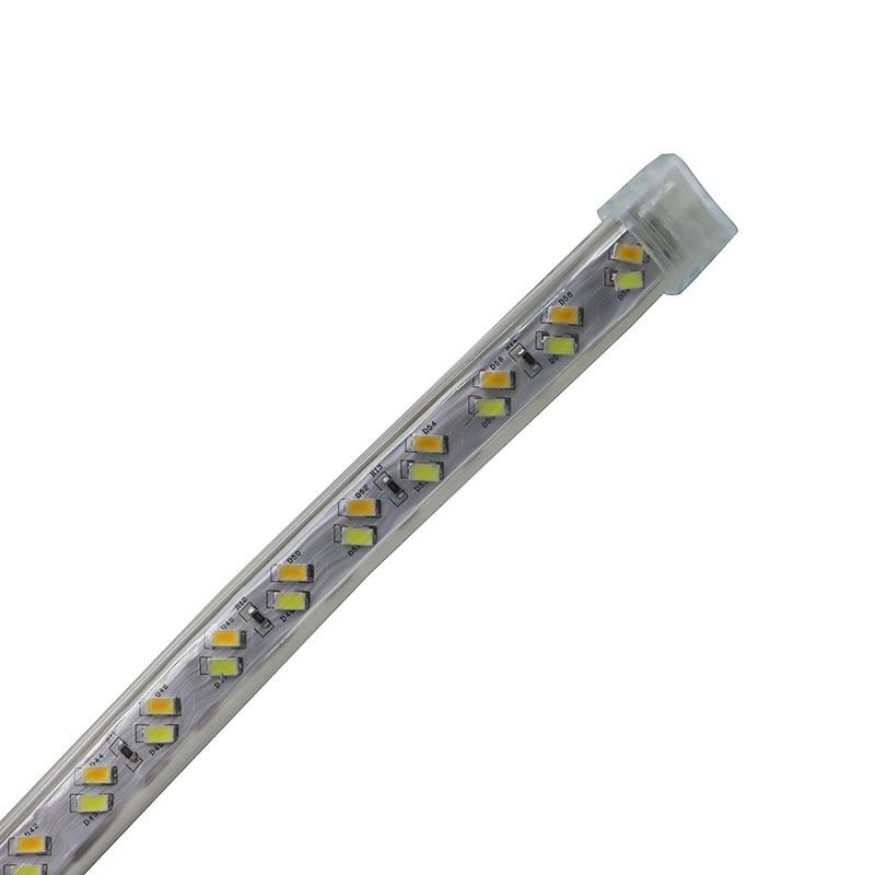 SZYOUMY 220 V Светодиодные ленты веревки света 5630 5730 SMD двойной белый с регулируемой яркостью Водонепроницаемый IP67 под шкафы DIY вечерние освещения 120 светодиодный s/M - 3