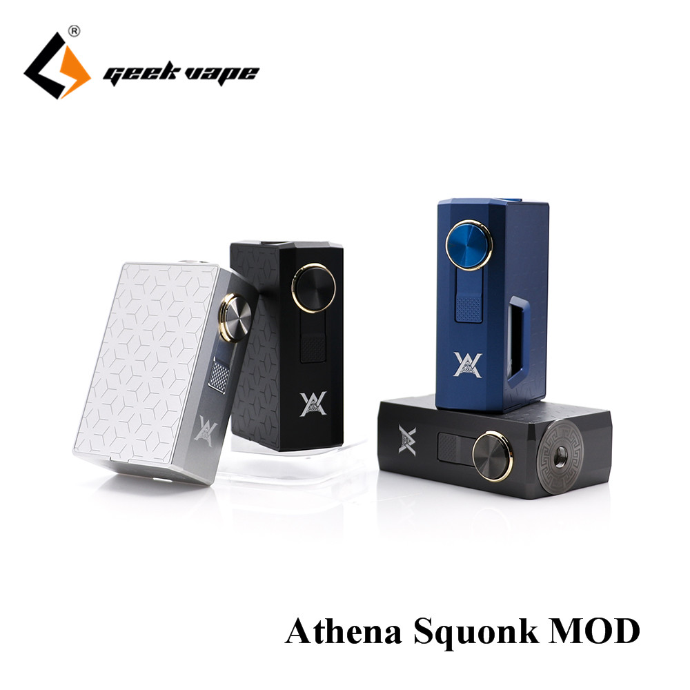 Original GeekVape Athena Squonk Mod with 6.5ml Squonk Bottle Electronic Cigarette Weipa Support Squonk RDA TANK vape kit