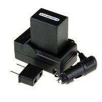 1 stücke NP-FH100 NP FH100 NPFH100 Batterie + Ladegerät + Kfz-ladegerät Freie Stecker Für Sony SR HC DVD Serie DCR