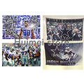 Буле Флага Звезды Dallas Cowboys Флаг № 88 Игрок Спорт Баннер 3ft X 5ft Джерси Dallas Cowboys Флаг