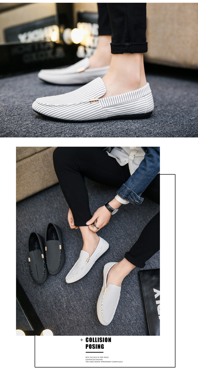 HTB1SWXUdBCw3KVjSZFlq6AJkFXaU Spring Summer Mens Loafers Plus Size Lightweight Comfortable Flat Casual Shoes Men Breathable Slip on Soft Leather Driving Shoes