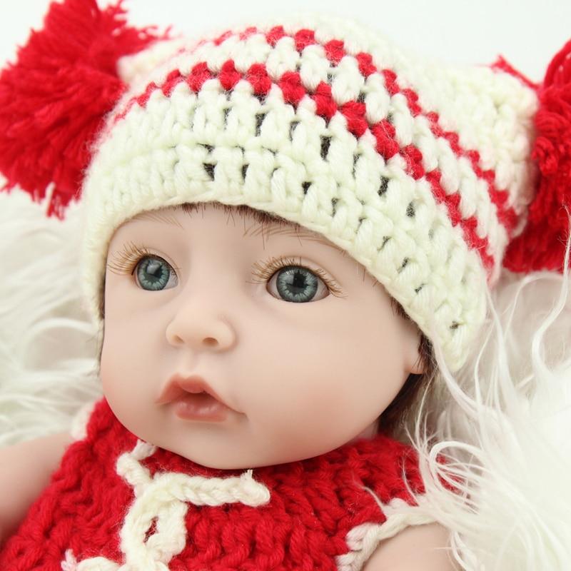 10 Inch Silicone Reborn Baby Girl Dolls Lifelike Reborn ...