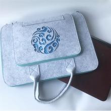 Wool Felt Laptop Case 11 12 13 14 15 17 Inch Bag Notebook Briefcase Handlebag For Macbook Air Pro Lenovo Cover