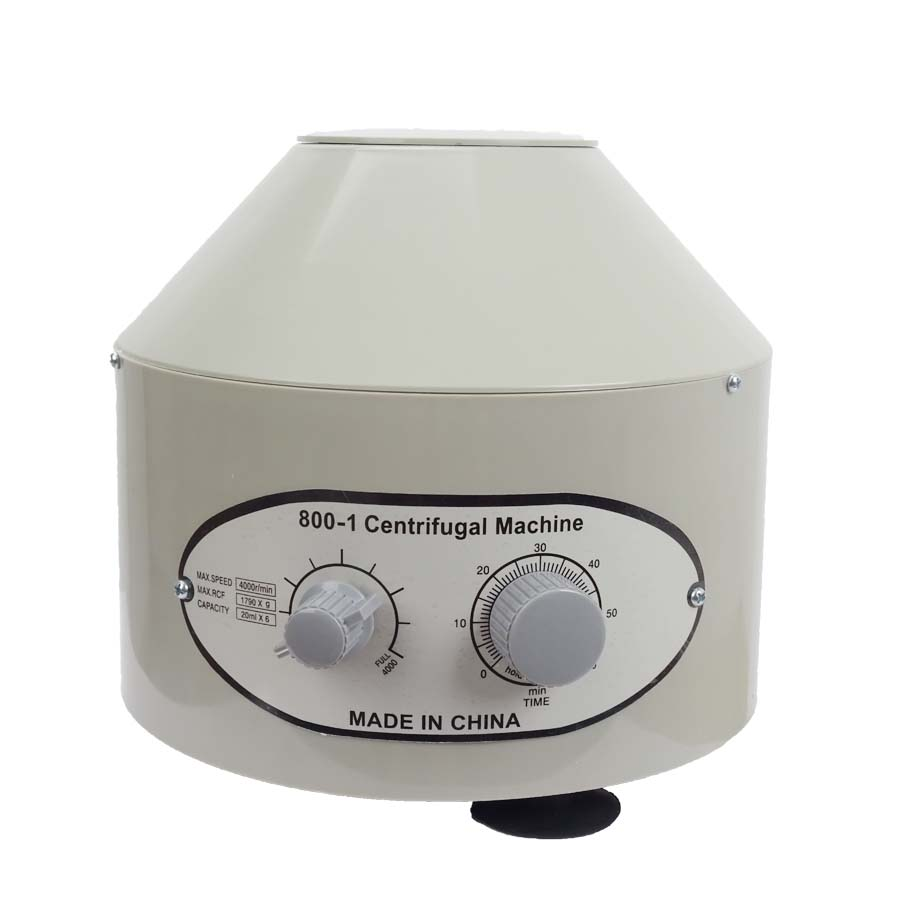 800-1 Electric Low Speed Desktop Electric Medical Lab Centrifuge Laboratory Centrifuge 4000rpm/min 6 x 20ml 800 electric centrifuge ionomer medical separation biological laboratory centrifuge adjustment speed function foam removal serum