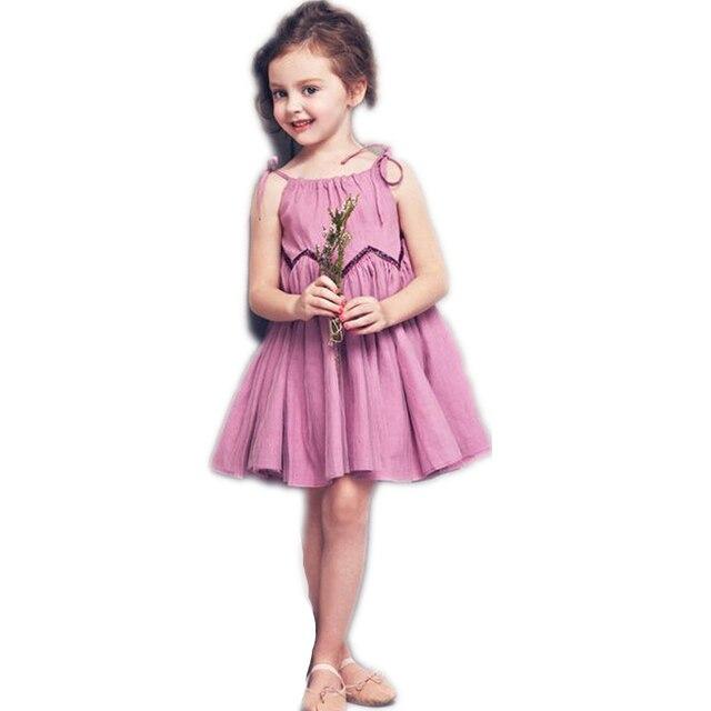 Fashion Hot Summer Kids Girl Cute Dresses Lolita Style Summer Dress ...