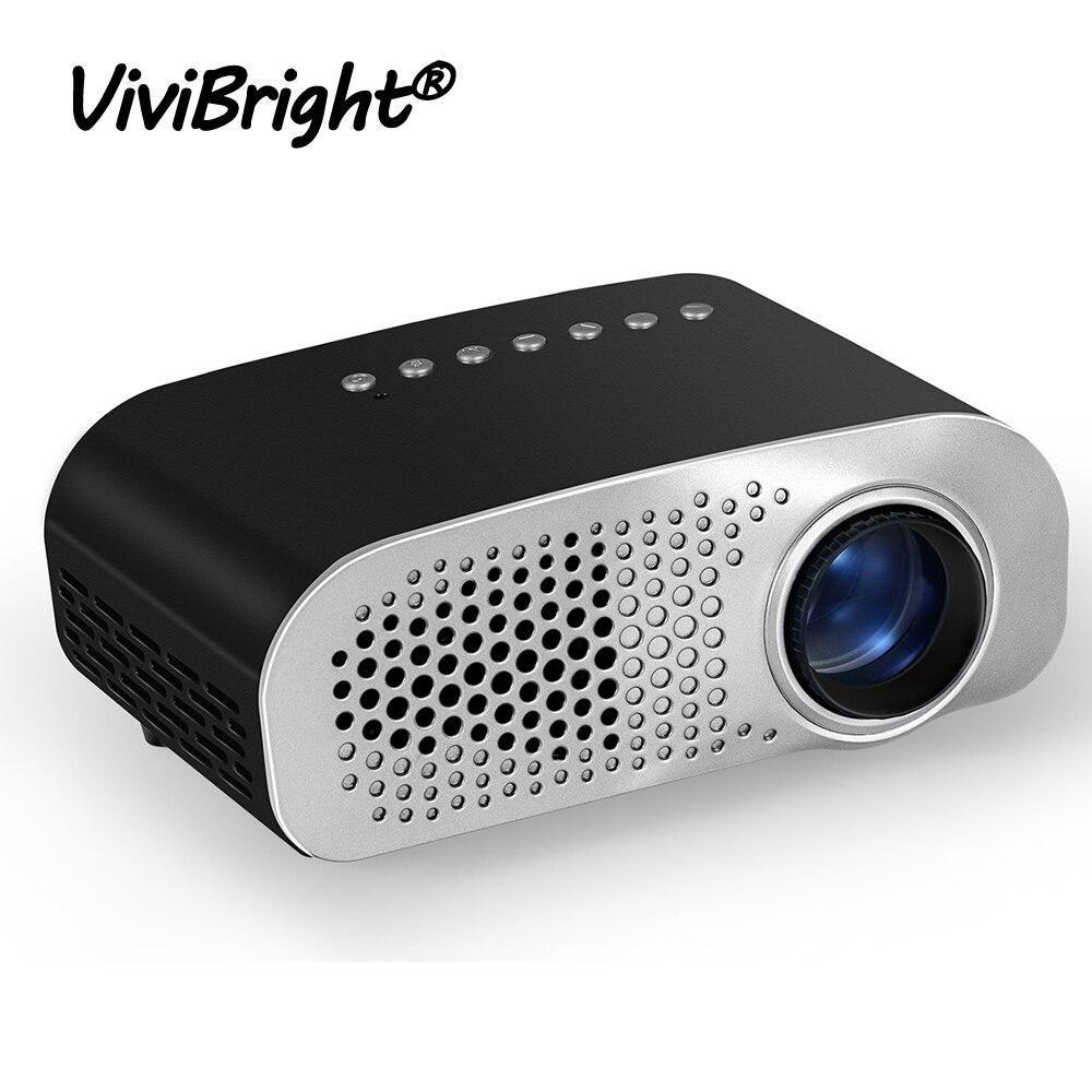 Portable Mini Projector LED Full HD 1080P Video Beamer 480 320 Home Theater Cinema LCD TV