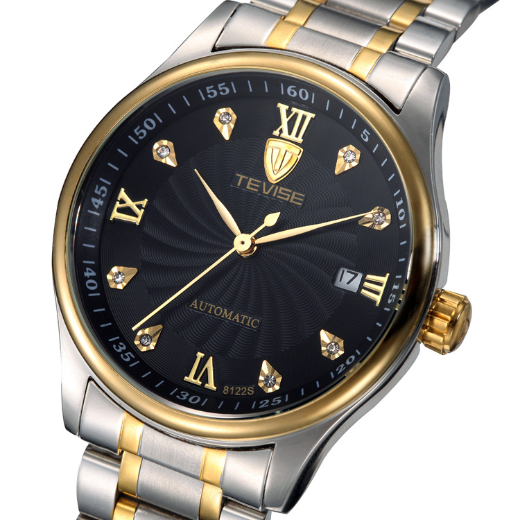 TEVISE Mens Watches top brand Luxury Watch Automatic Self Wind Business Mechanical Wristwatch Relogio Masculino high