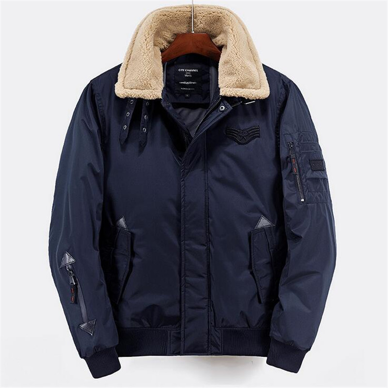 Russian Winter Coat Men Solid Back Blue Thicken Parkas High Quality Casual Jackets Men 2017 New Arrive Outcoats Man Size M-XXL russian phrase book
