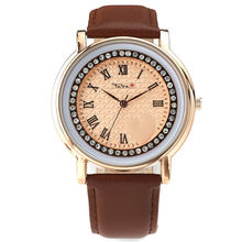 Top Luxury Brand TADA High Quality Women's Wristwatches Genuine Leather Strap 3ATM Waterproof Clock Relojs Watches Lady