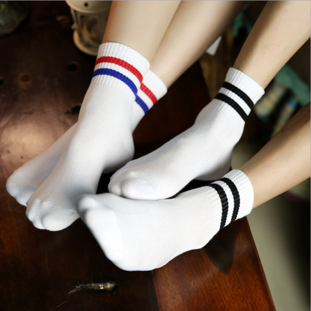Old School socks. Retro sports tube socks in all colors ...