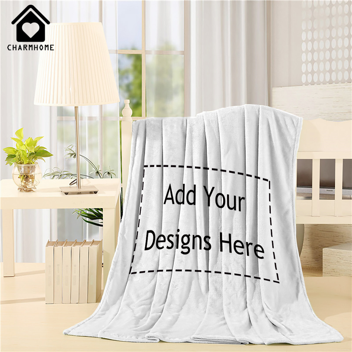 Customize Home Throw Blanket Bed Sofa Couch Blanket Baby