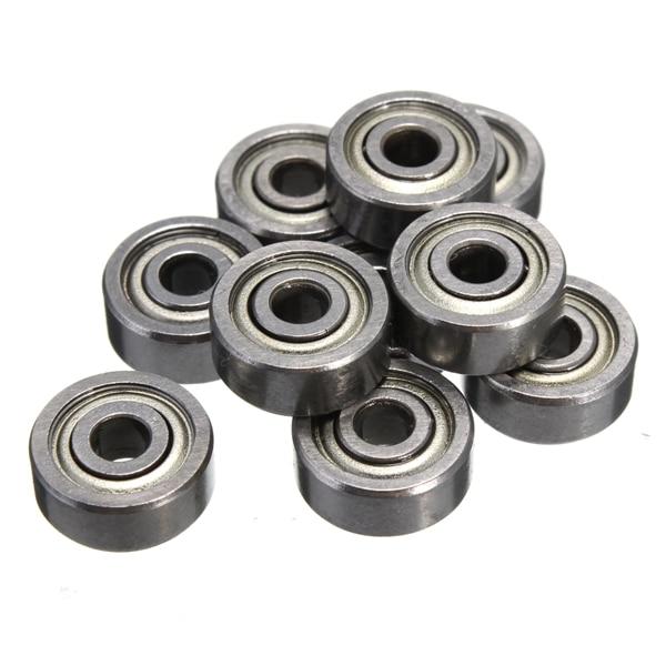 10pcs MR105 MR105ZZ Rodamientos miniatura de bolas Mini Bearing 5 X 10 X 4mm